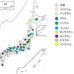 かって日本で採掘していたレアメタル